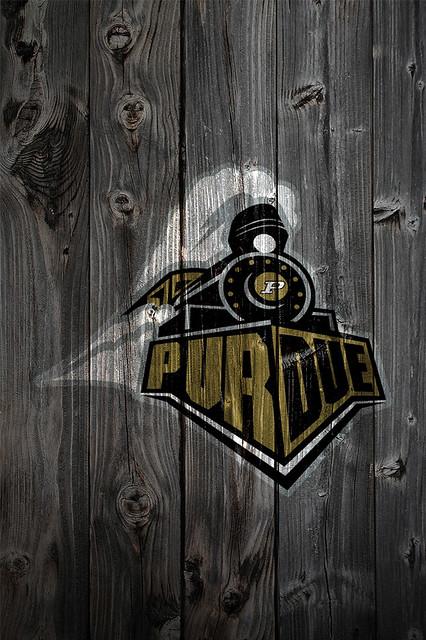 Purdue Boilermakers Wood Iphone 4 Background Purdue