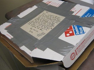 Bros slicing bros: hate-eating Domino's pizza | by passiveaggressivenotes