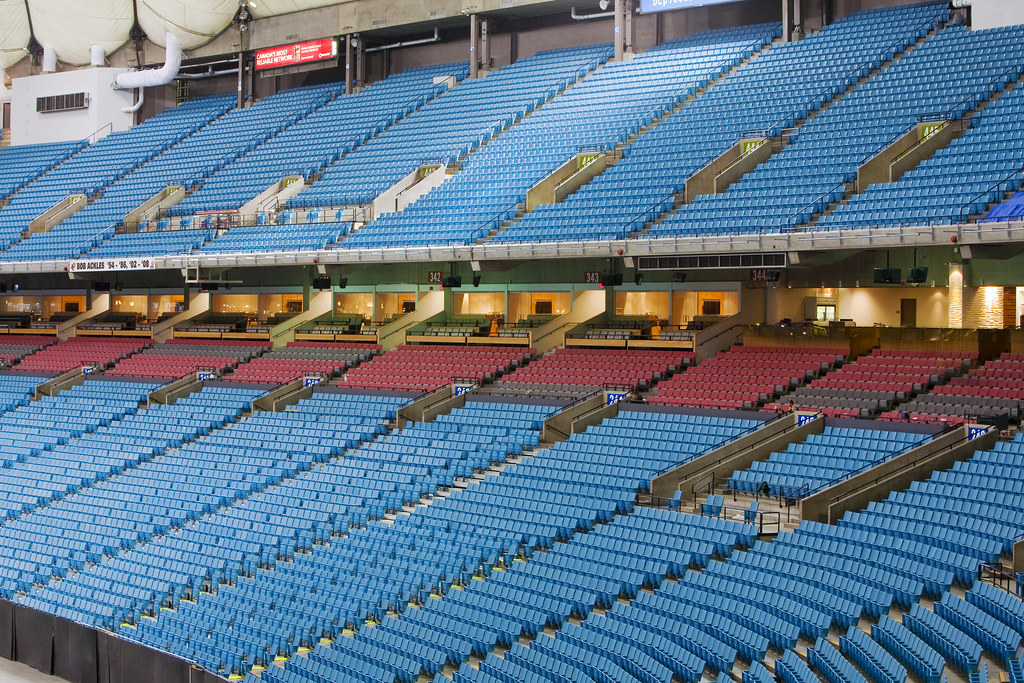 New Club Seating Bc Place Flickr