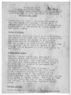 hmv 363 Oxford Street, London - Gilbert & Sullivan ' Trial By Jury' picture back text.