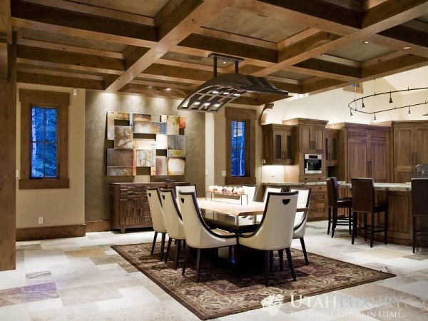 Modern rustic home interior design modern rustic home - Techos rusticos interiores ...
