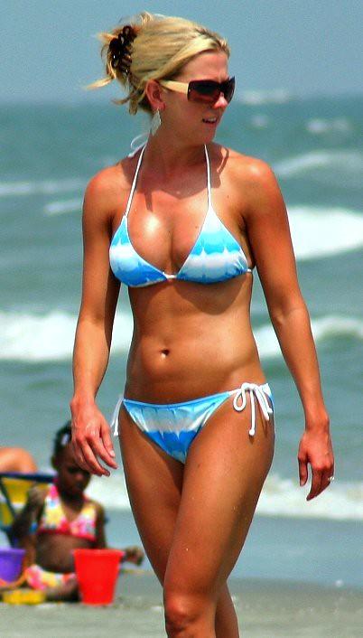 Beauty In A Baby Blue Bikini Charlie J Flickr