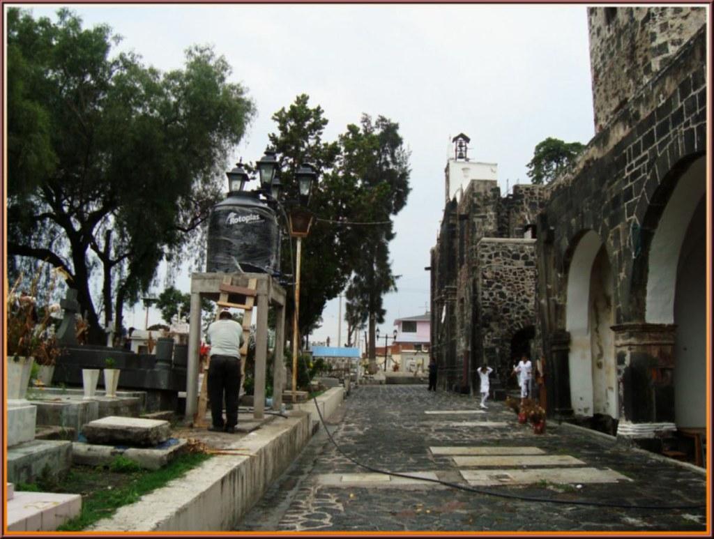 Parroquia de san andr s ap stol mixquic tlahuac ciudad d - El colmao de san andres ...