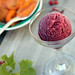 red wine raspberry sorbet