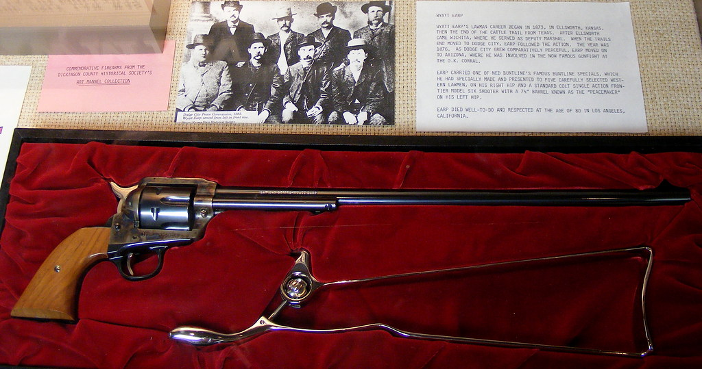 Wyatt Earp Buntline Special 2672 Replica Of The Legendary Flickr