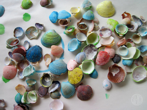pretty painted shells | by secret agent josephine