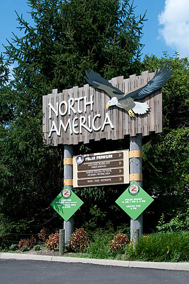 North America Sign_7420 | North America Sign; Columbus Zoo ...