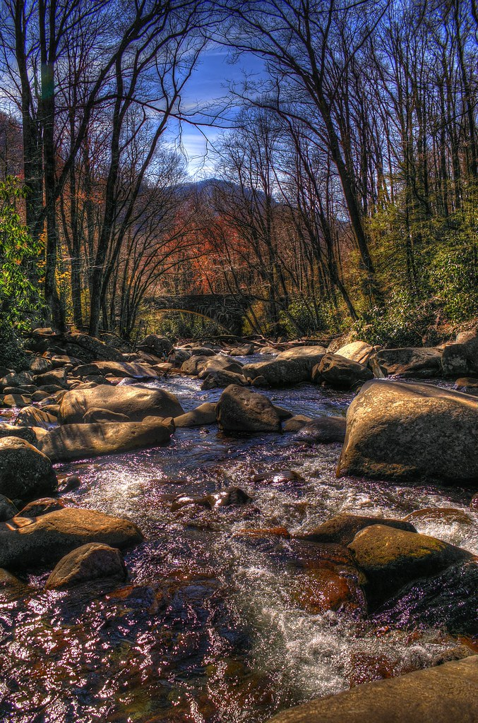 Smoky Mountain Stream | View On Black | _eWalter_ | Flickr