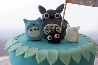 totoro and buddies | by Coco Cake Land