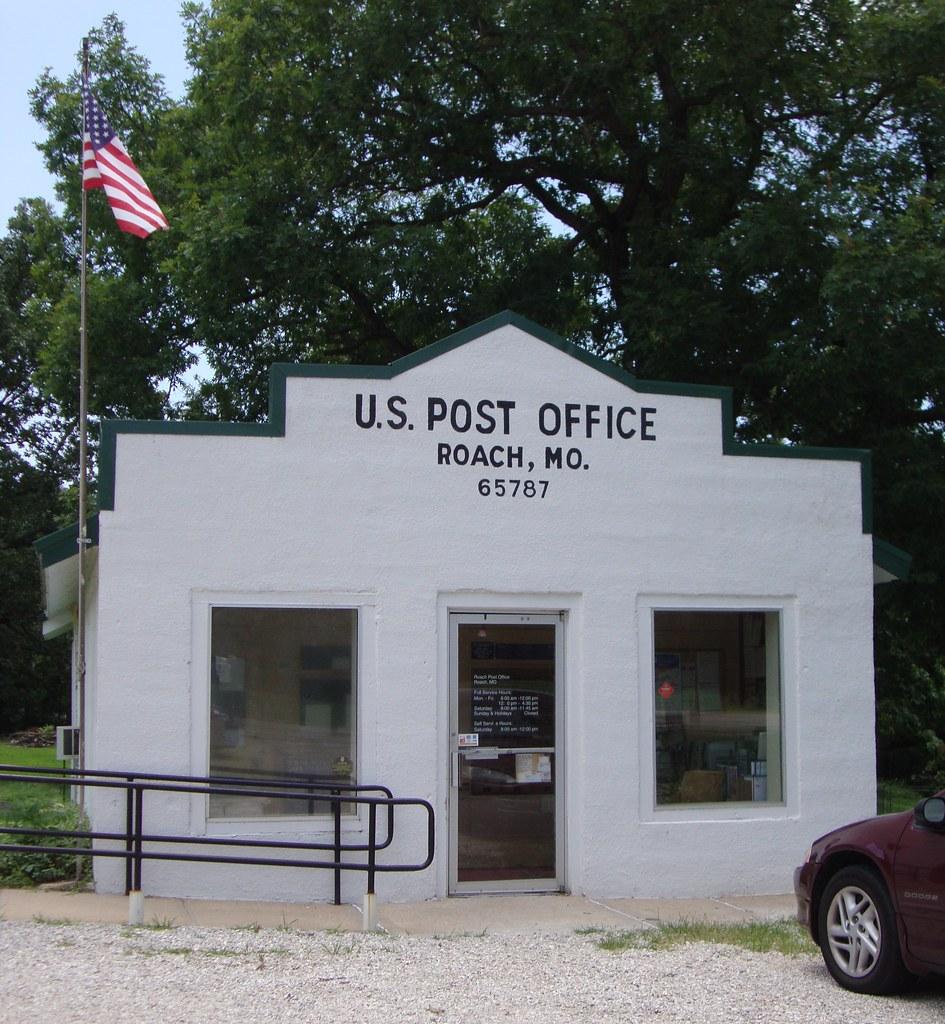 Post Service: Post Office 65787 (Roach, Missouri)