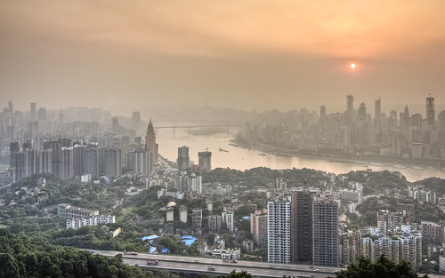 Chongqing from Yi Ke Shu Observation | by Sarmu