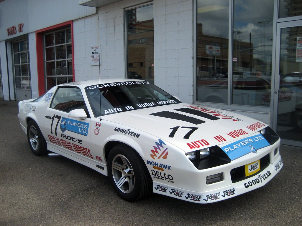 1989 gm players series iroc camaro gm produced approx