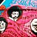 Psychedelic Haight Street Mural; Joplin, Hendrix, Garcia