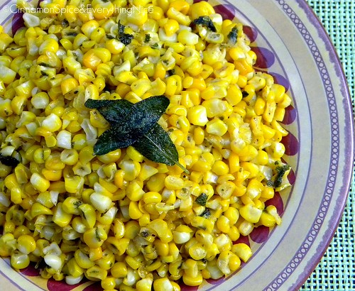 Sage and Lime Corn | by CinnamonKitchn