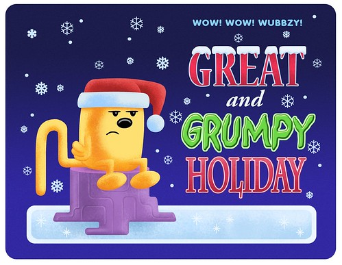 Great and grumpy holiday quot title card flickr photo sharing