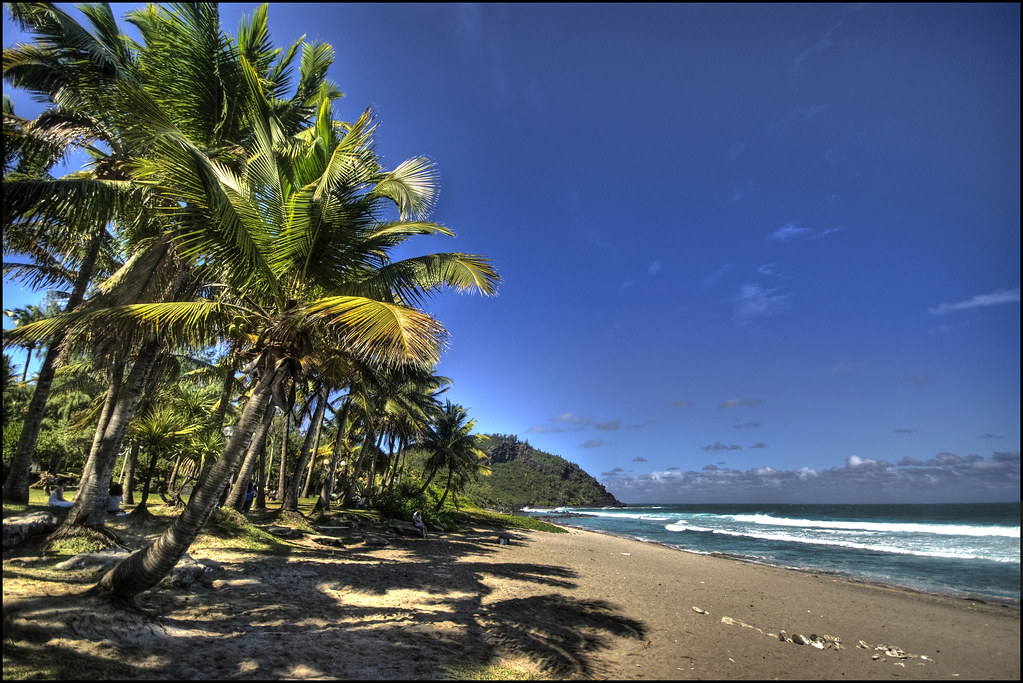 La Reunion Island Google Map