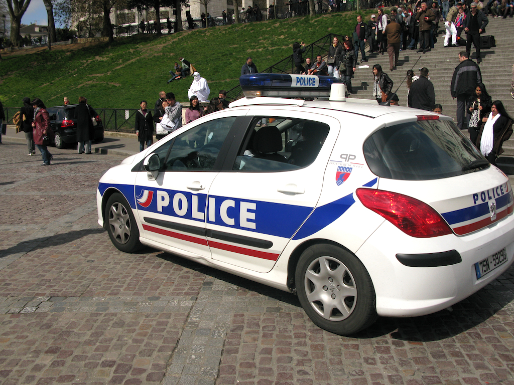 Peugeot 308 Police Car Peugeot 308 Police Car Of French