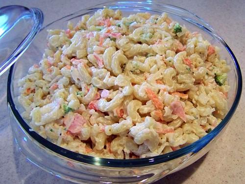 salad creamy crab and pasta salad favorite crab pasta salad ...