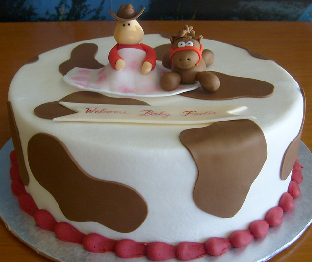 Cowgirl Baby Shower Cakes: Cowboy-baby-shower-cake.jpg