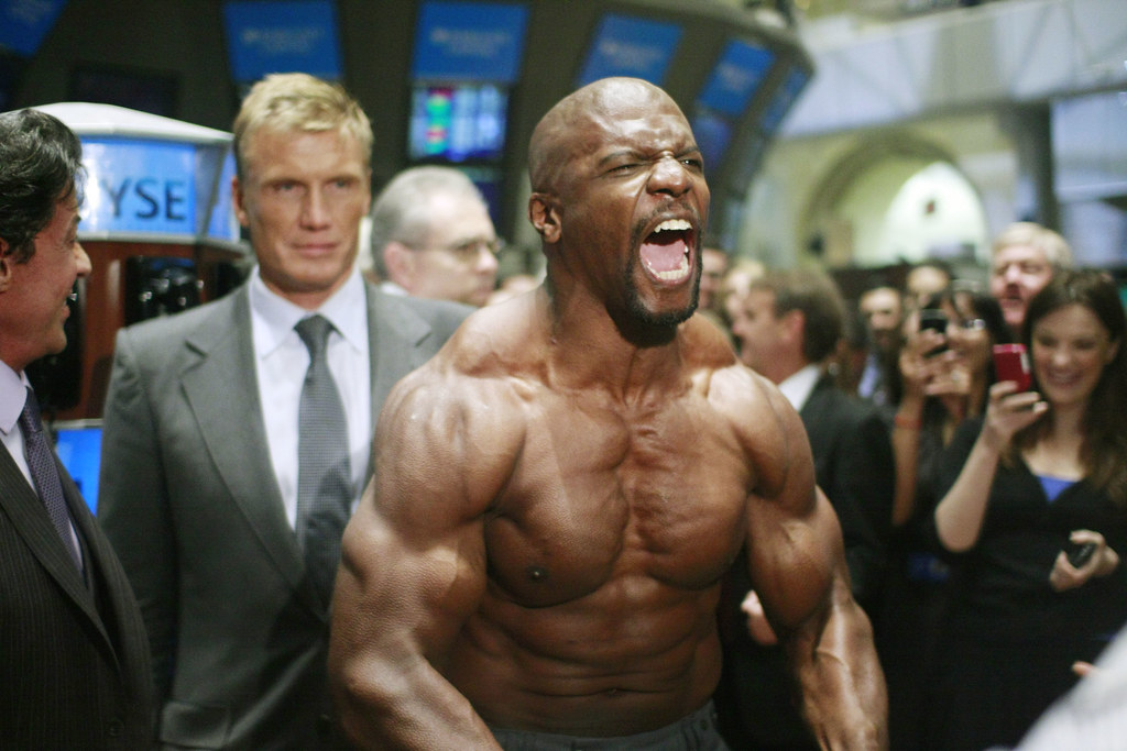 Terry Crews at the NYS...