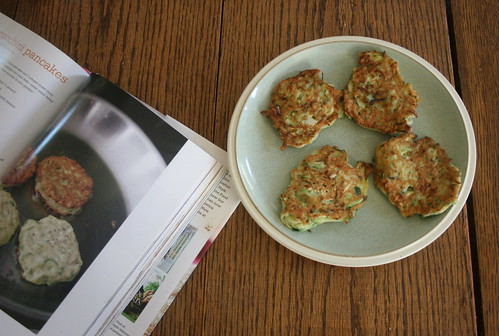 zucchini pancakes | by all buttoned up