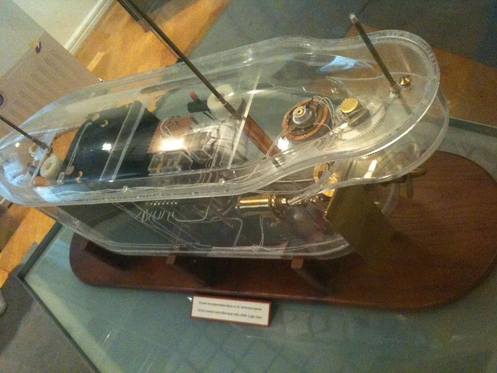 Nikola Tesla Museum Remote Control Boat Esa Ruoho Flickr