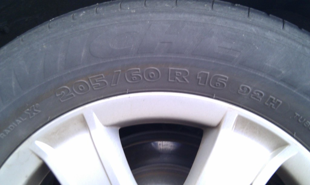 camry car tire size i tire of remembering my tyre size so flickr. Black Bedroom Furniture Sets. Home Design Ideas