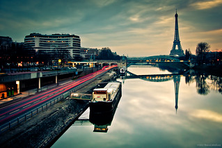 Morning reflections in Paris | by Marc Benslahdine