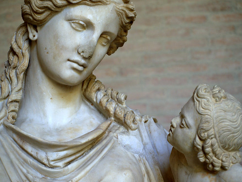 A Look At Plenty Detail Of Statue Of Eirene Greek