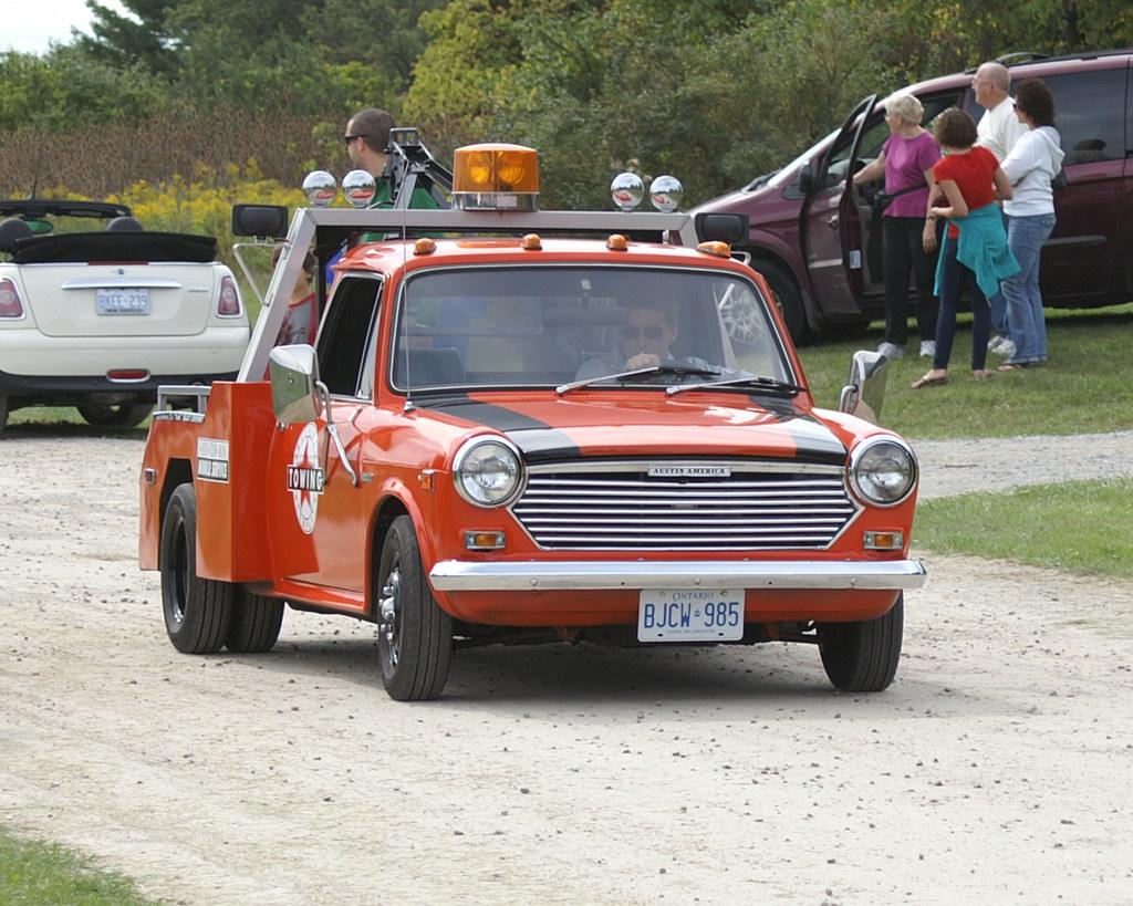 1970-71 Austin America Tow