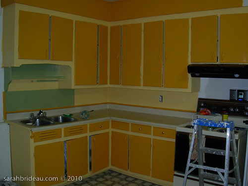 Painted Cabinets For Small Kitchens