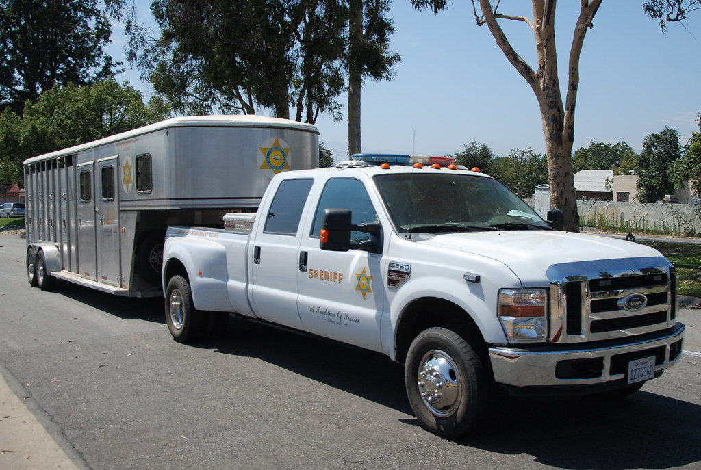 Los Angeles County Sheriff Department Lasd Ford Dually