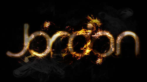 Fire and Smoke Text Effect | by JordanHipwell