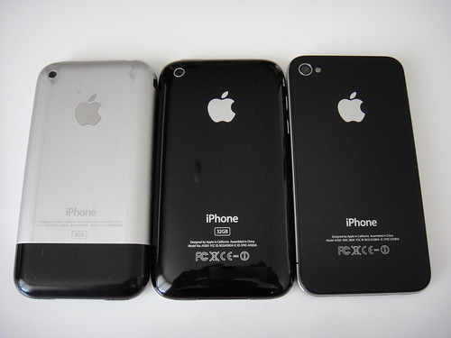 3 Generations of iPhone | by renatomitra