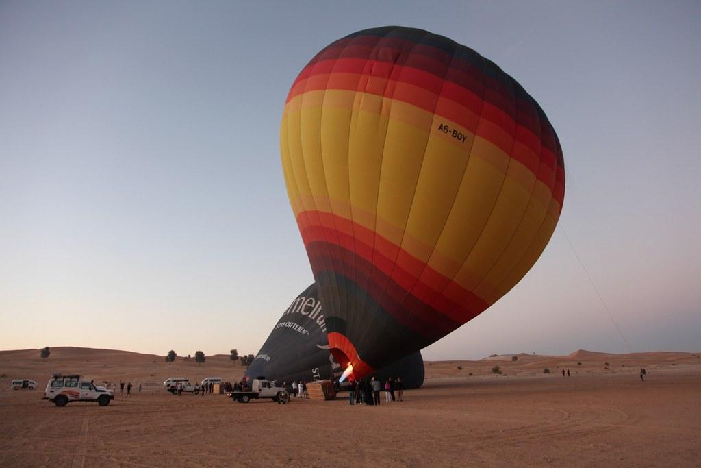 Go Hot Air Ballooning in Dubai - Things to do in Dubai