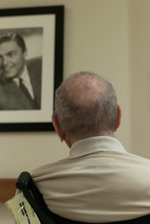 my father enjoys the art at the nursing home | by Susan NYC