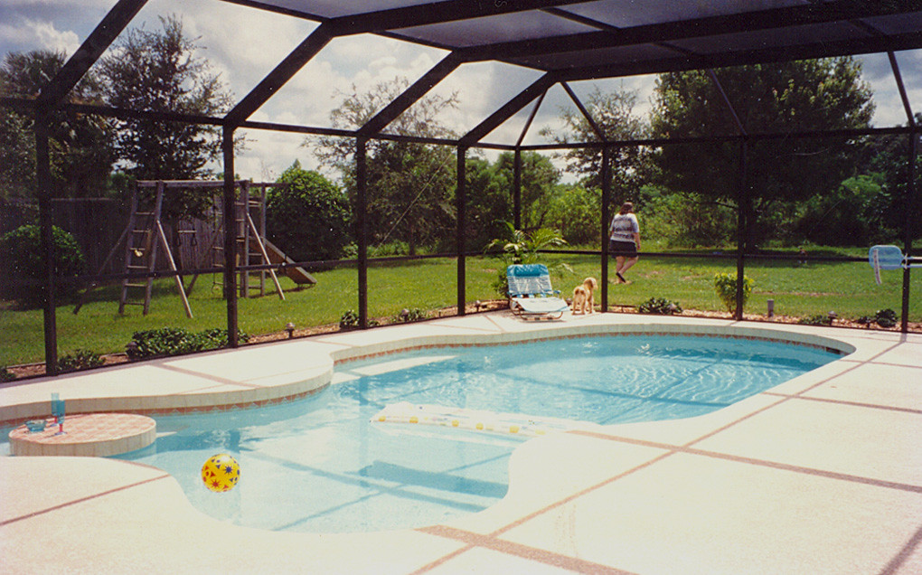 Sarasota swimming pool in new home 1994 the swimming - How do i keep ducks out of my swimming pool ...