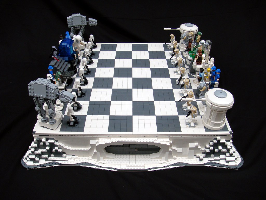 Star Wars: The Empire Strikes Back Lego Chess   Brandon Griffith ...