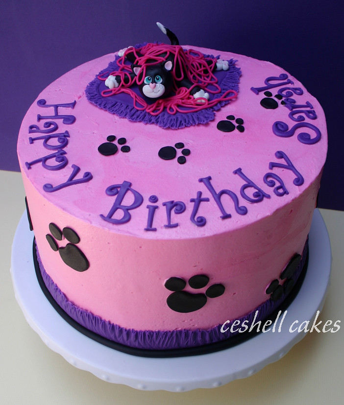 cat birthday cake cat birthday cake copied a cake by catcreations on cc 2514