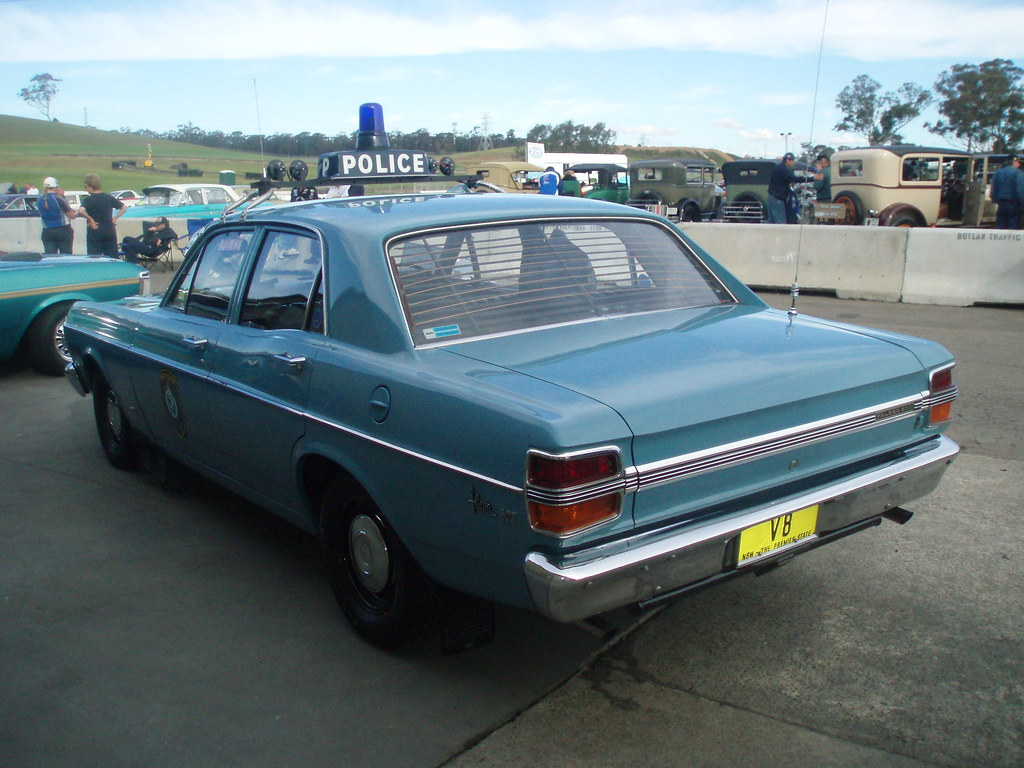 Ex Police Car Auctions >> 1971 Ford XY Falcon 500 - NSW Police | 1971 Ford XY Falcon 5… | Flickr