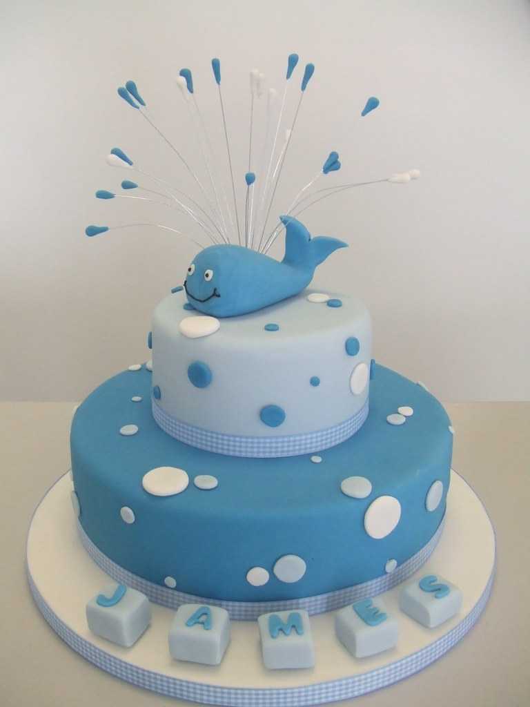 Pinterest Baby Shower Whale Cake