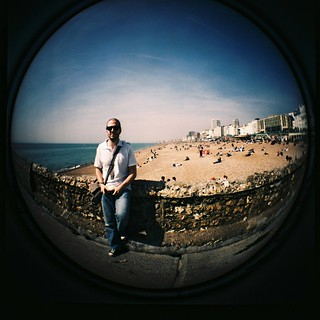fisheye eye | by golfpunkgirl