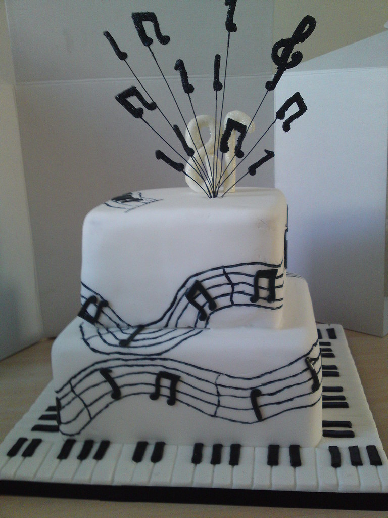 Cake Design Ideas Music : Music Cake Back Alison Flickr