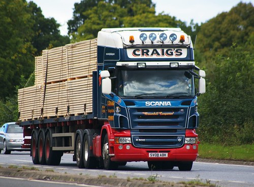 Scania R500-Craig's Denny 15/9/2010 | by scotrailm 63A
