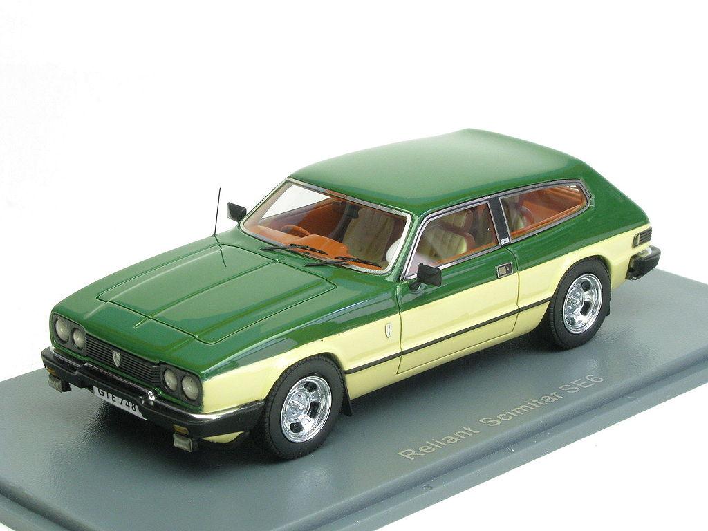Reliant Scimitar GTE beige/green (Neo Scale Models NEO4374… | Flickr