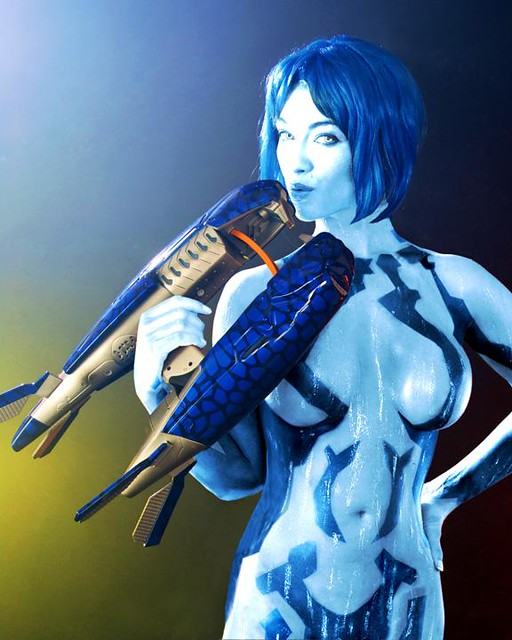 Hot cortana cosplay your place