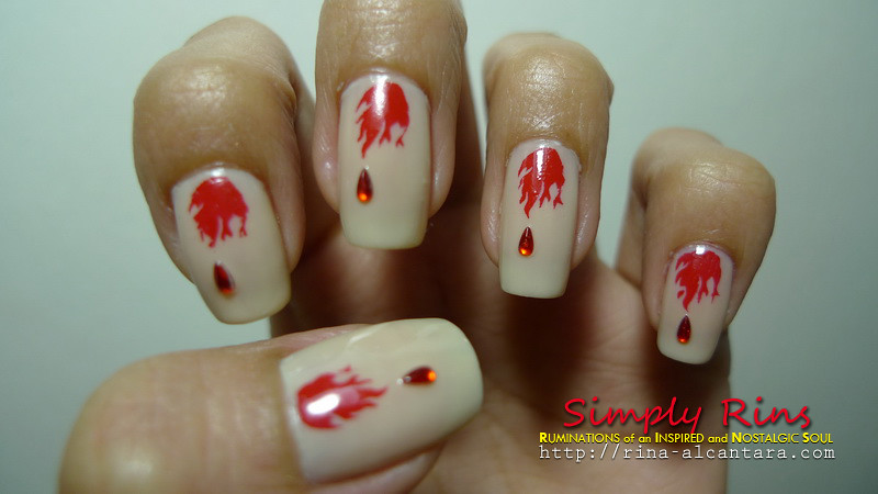 Nail Art Vampire Diaries 03 | Rina Alcantara | Flickr