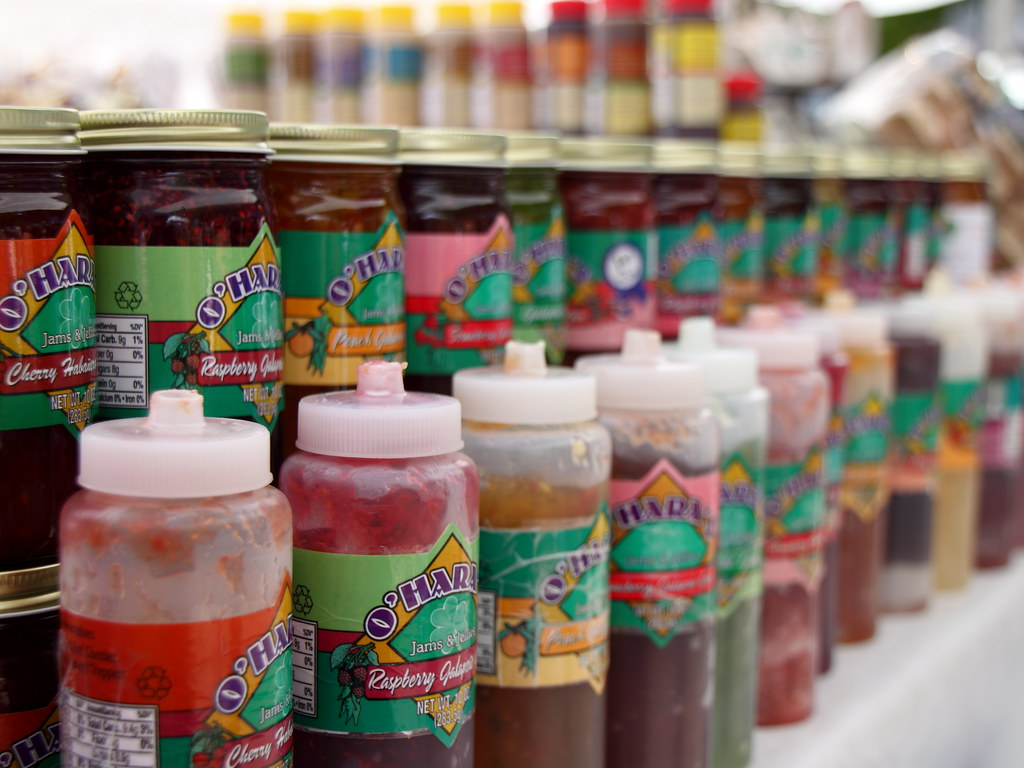 santa fe outdoor market jams jars of jam for sale at the. Black Bedroom Furniture Sets. Home Design Ideas
