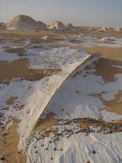 Crestas eólicas - White Desert (Egipto) - 03