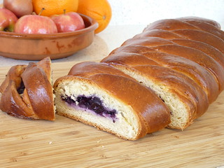 Blueberry Cream Cheese Braid | by laurazucchetti